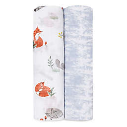 aden + anais® 2-Pack Naturally Swaddle Blankets