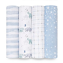 aden + anais® 4-Pack Rising Star Swaddle Blankets