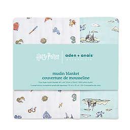 aden + anais™ essentials Harry Potter Muslin Toddler Blanket in Grey