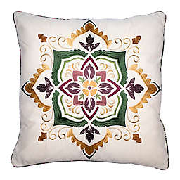 Donna Sharp Spice Postage Stamp UCC Throw Pillow Collection