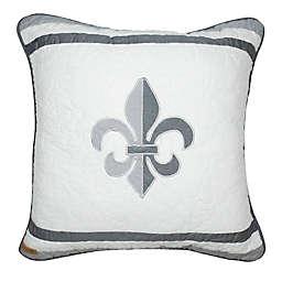 Donna Sharp® Ashland Fleur Square Throw Pillow in White