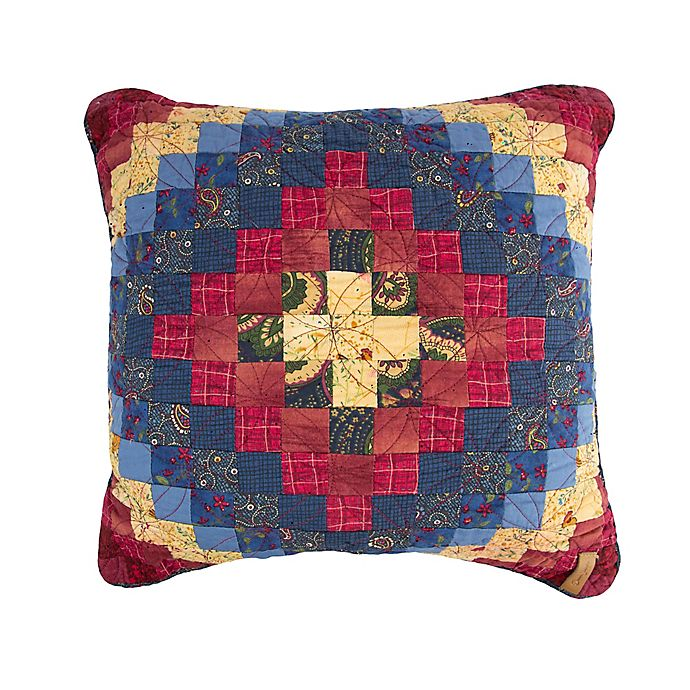 Alternate image 1 for Donna Sharp Chesapeake Square Throw Pillow