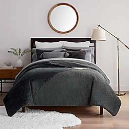UGG® Outback 2-Piece Twin Comforter Set in Charcoal