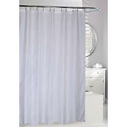 Moda 70-Inch x 72-Inch Sparkles Shower Curtain in White
