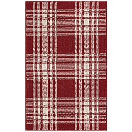 Bee & Willow™ Home Plaid Accent Rug
