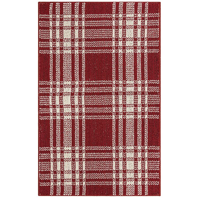 Alternate image 1 for Bee & Willow™ Home Plaid Accent Rug