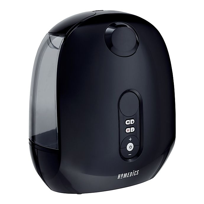 Alternate image 1 for HoMedics® TotalComfort® Deluxe Ultrasonic Warm or Cool Mist Humidifier in Black