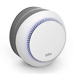 Pure Enrichment PureZone Halo True HEPA Air Purifier in White
