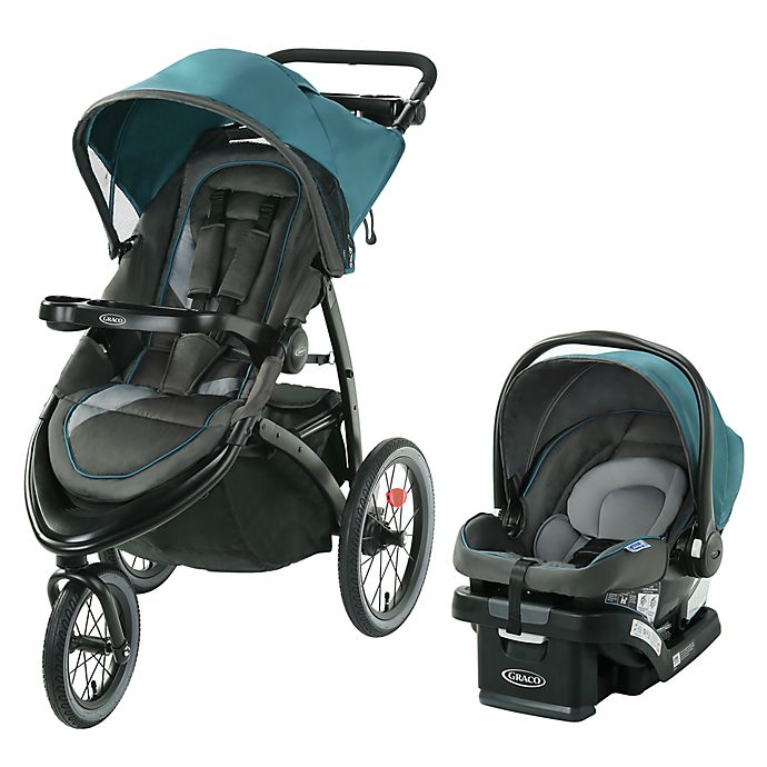 Alternate image 1 for Graco® FastAction™ Jogger LX Travel System in Seaton
