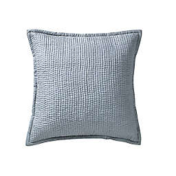Lucy European Pillow Sham in Platinum