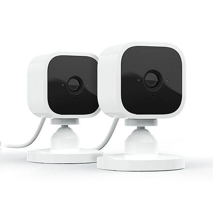 Alternate image 1 for Blink by Amazon Mini Camera in White (2 Pack)