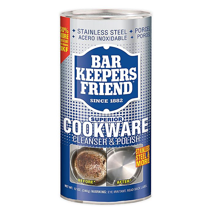 Alternate image 1 for Bar Keeper's Friend® 12-Ounce Cookware Cleaner