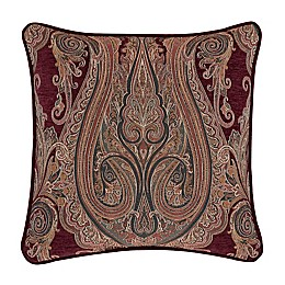 J. Queen New York™ Garnet 20-Inch Square Throw Pillow in Red