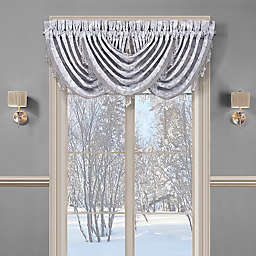 J. Queen New York™ Iceland Waterfall Window Valance in Powder Blue