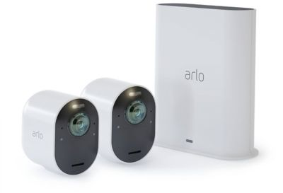 Arlo Ultra 4K UHD 2-Camera Security System in White