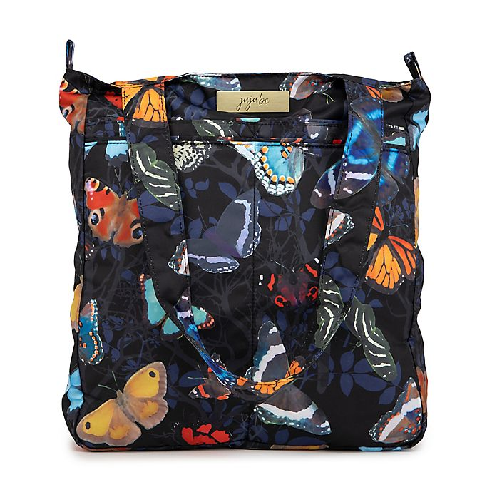 Alternate image 1 for Ju-Ju-Be® Be Light Social Butterfly Diaper Tote in Black