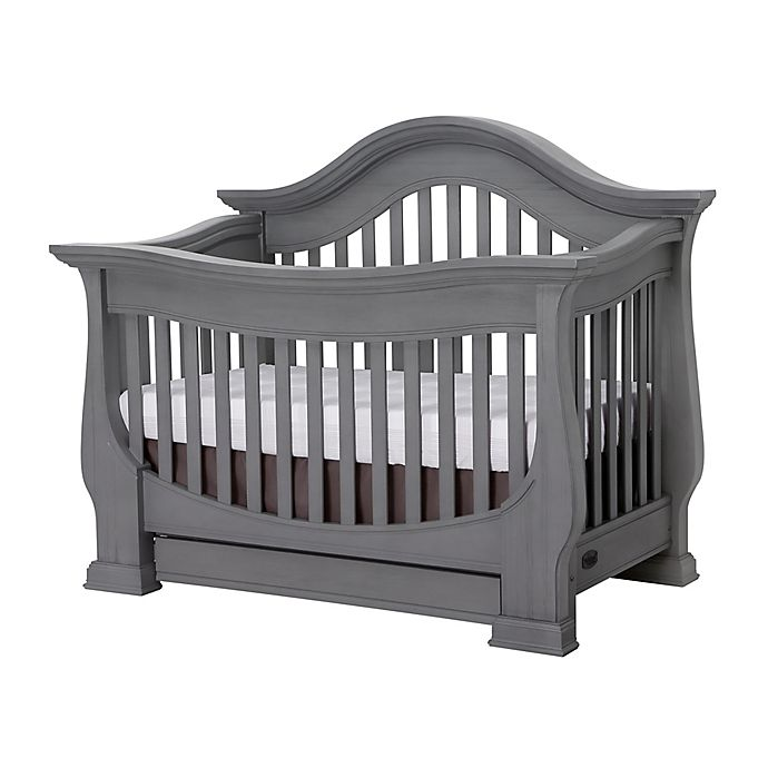Alternate image 1 for Baby Appleseed® Davenport 4-in-1 Convertible Crib in Morning Mist