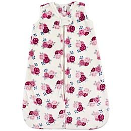 Hudson Baby® Floral Plush Sleeping Bag