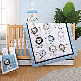 The Peanutshell™ Little King Crib Bedding Collection in Blue/White