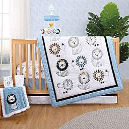 The Peanutshell™ Little King 3-Piece Crib Bedding Set in Blue/White