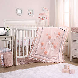 The Peanutshell™ Brianna 3-Piece Crib Bedding Set in Pink
