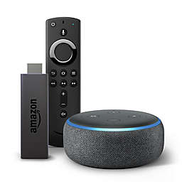 Amazon Echo Dot Generation 3 + Fire TV Stick in Black