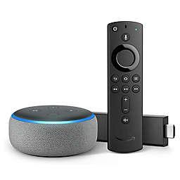 Amazon Echo Dot Gen 3 + Fire TV Stick 4K Bundle