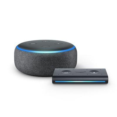 Amazon Echo Dot Generation + Echo Auto in Black