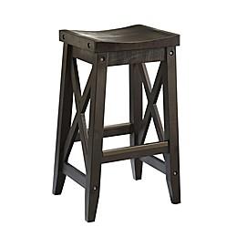 Modus Furniture Yosemite Solid Wood Bar Stool in Café
