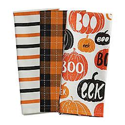 "Pumpkin ""Boo!"" Kitchen Towels (Set of 3)"