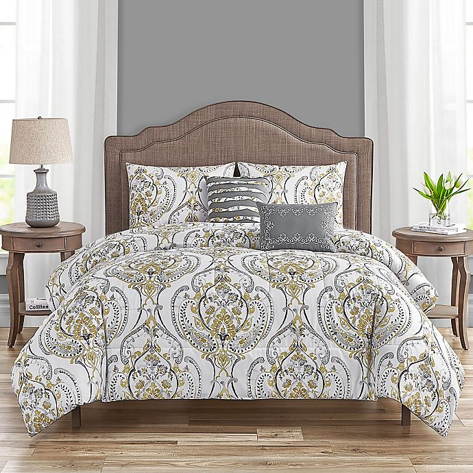 Alternate image 1 for Aubrey 5-Piece Comforter Set