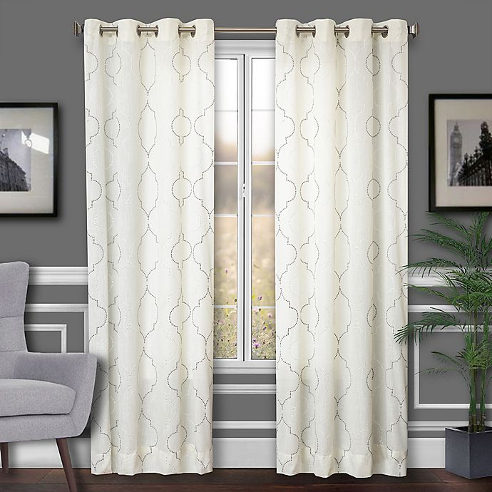 Alternate image 1 for Albany 2-Pack 84-Inch Grommet Window Curtain Panel
