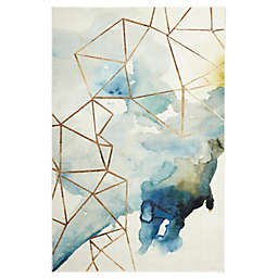 Mohawk® Home Prismatic Cognition 8' x 10' Area Rug in Blue/Multicolor