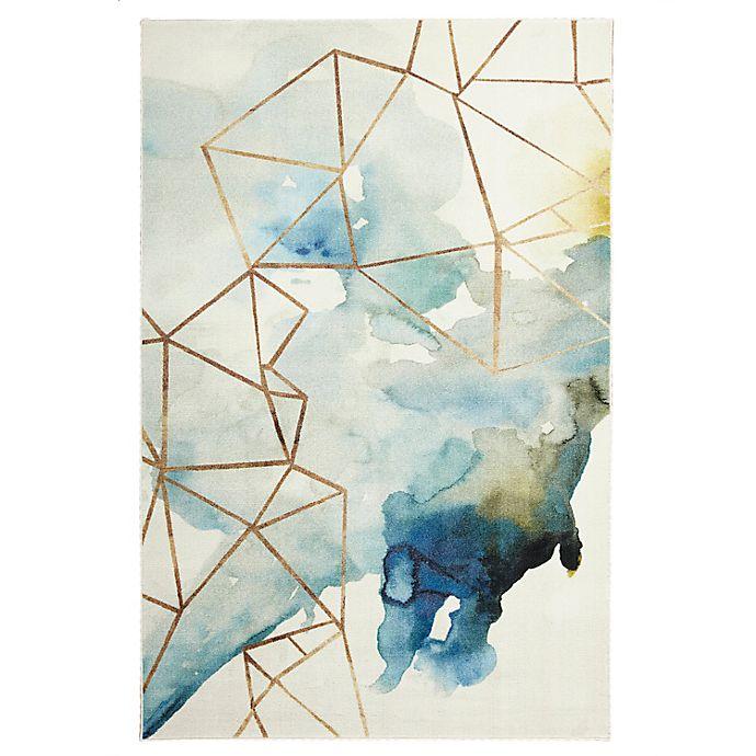 Alternate image 1 for Mohawk® Home Prismatic Cognition Area Rug in Blue/Multicolor