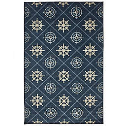 Mohawk Home® Prismatic Compass Area Rug in Navy