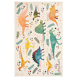 Mohawk Home® Prismatic Dino Jungle Area Rug in Green