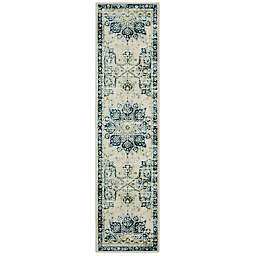 Mohawk Home® Prismatic Empearal 2' x 10' Runner in Navy Multi