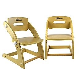 Little Partners Grow With Me Chairs (Set of 2) in Earl Grey