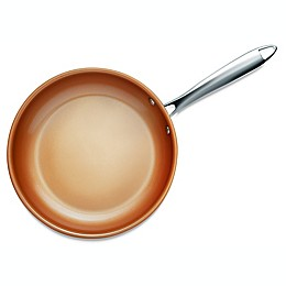 Gotham™ Steel Nonstick Stainless Steel 11-Inch Fry Pan