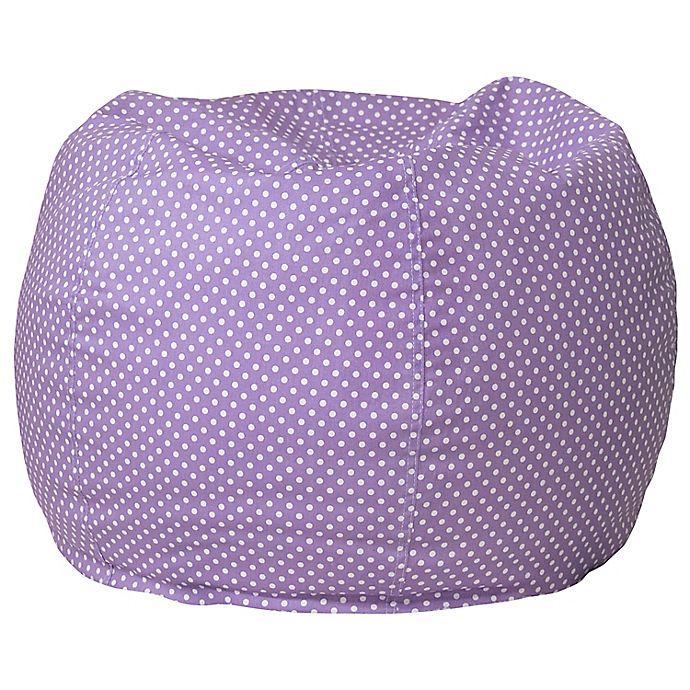 Alternate image 1 for Flash Furniture Dot Bean Bag Chair