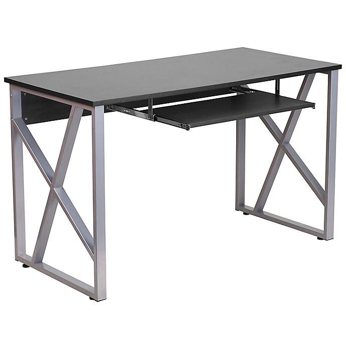 Flash Furniture Black Computer Desk, Flash Furniture Computer Desk