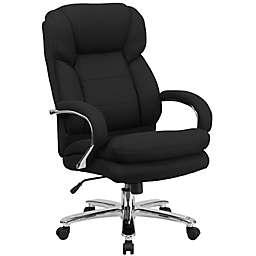 Flash Furniture 24/7 Intensive Use Fabric Chair in Black