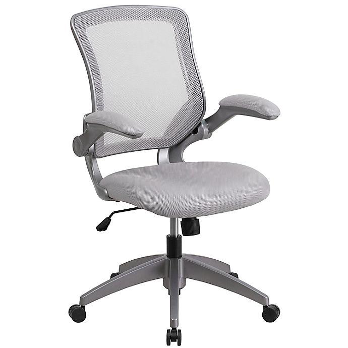 Alternate image 1 for Flash Furniture Mid-Back Mesh Swivel Desk Chair