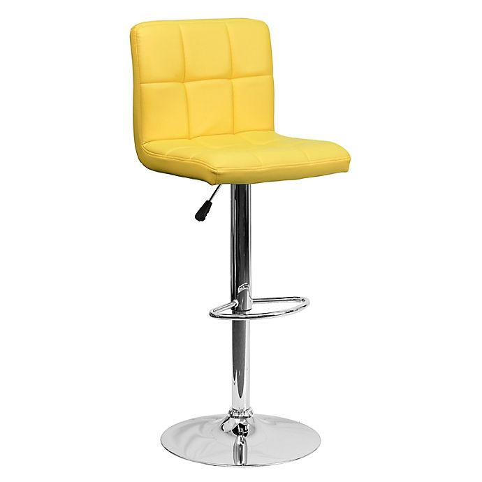 Alternate image 1 for Flash Furniture Quilted Bar Stool