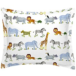 NoJo® Painted Zoo Twin Pillow Sham
