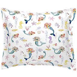 NoJo® Watercolor Mermaids Pillow Sham