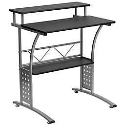 Flash Furniture 23.5-Inch Clifton Computer Desk in Black