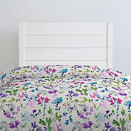 NoJo® Bright Wildflowers Duvet Cover in Purple