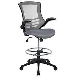 Flash Furniture Mid-Back Mesh Drafting Chair