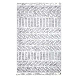 Bee & Willow™ Ava 5'3 x 7'7 Area Rug in Grey